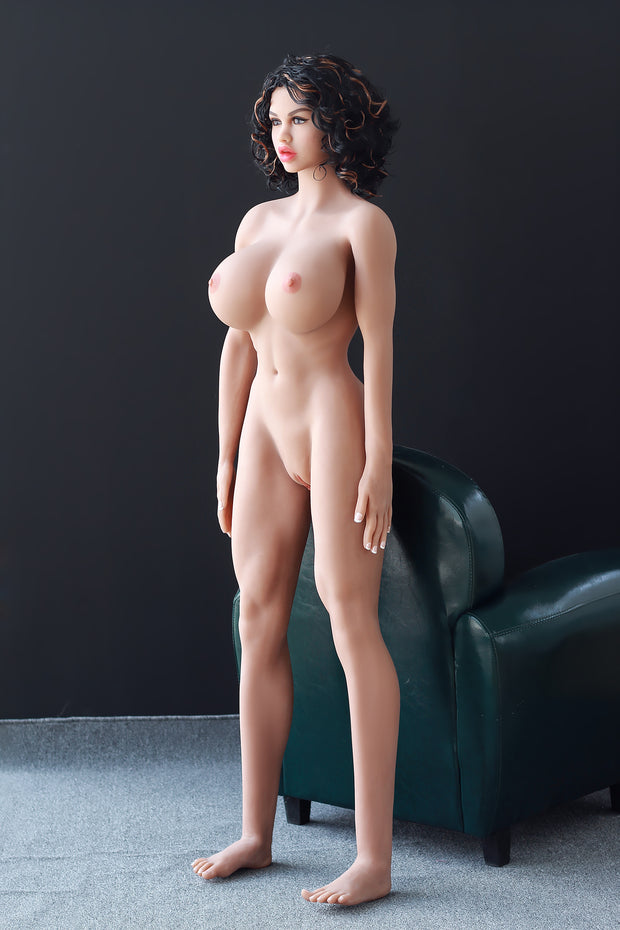 "5ft6"" Premium TPE Realistic G-cup Breast Men Sex Love Doll ID:166-02"