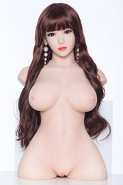 Premium TPE Realistic Natural Breast Lifelike Sex Torso Love Doll ID:T-02