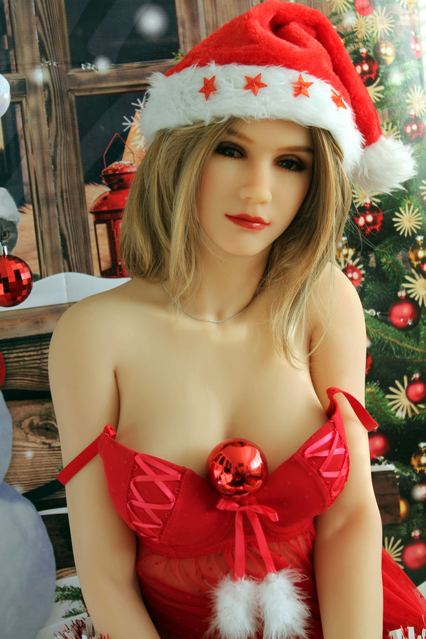 "5ft3"" Premium TPE Realistic B-cup Breast Lifelike Sex Love Doll ID:158-41"