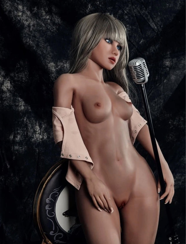 "4ft7"" Premium TPE Realistic A-cup Breast Men Sex Love Doll ID:140-18"