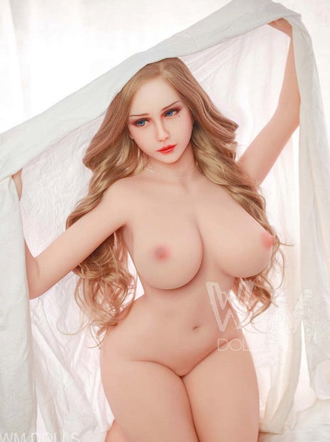 "5ft5"" Premium TPE Realistic E-cup Breast Lifelike Sex Love Doll ID:165-26"