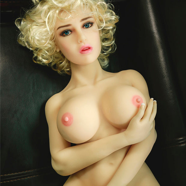 "4ft2"" Premium TPE Realistic C-cup Breast Lifelike Sex Love Doll ID:125-01"