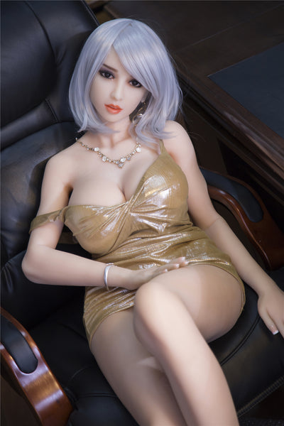 "3ft8"" Premium TPE Realistic C-cup Breast Lifelike Sex Love Doll ID:110-01"