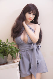 "4ft7"" Premium TPE Realistic B-cup Breast Lifelike Sex Love Doll ID:140-39"
