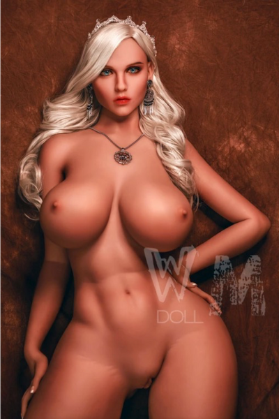 "5ft5"" Premium TPE Realistic H-cup Breast Lifelike Sex Love Doll ID:163-06"