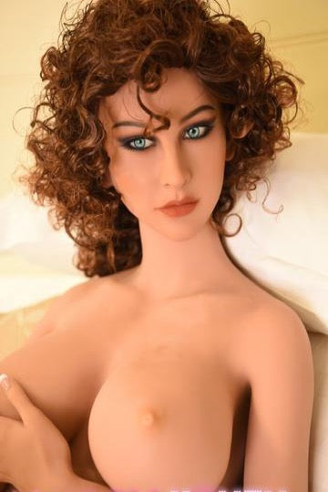 "5ft5"" Premium TPE Realistic E-cup Breast Lifelike Sex Love Doll ID:165-09"