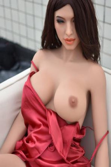 "5ft5"" Premium TPE Realistic E-cup Breast Lifelike Sex Love Doll ID:165-12"