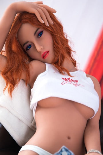 "4ft9"" Premium TPE Realistic C-cup Breast Lifelike Sex Love Doll ID:145-02"