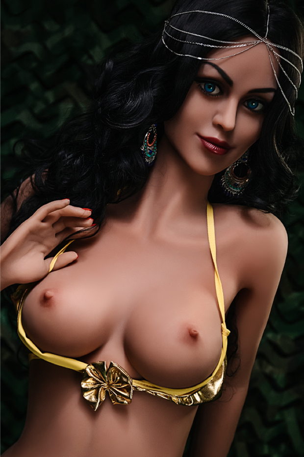 "5ft7"" Premium TPE Realistic Natural C-cup Breast Lifelike Sex Love Doll Sexy Girl ID:170-15"