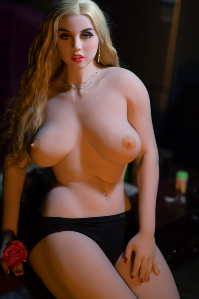 "6YE Brand 5ft7"" Premium TPE Realistic D-cup Breast Lifelike Sex Love Doll ID:168-12"