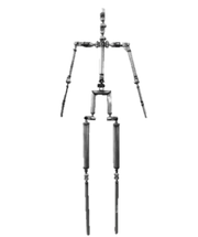 Upgraded Double-gear Joints Skeleton