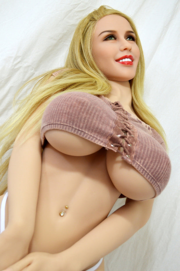 5ft Premium TPE Realistic H-cup Breast Men Sex Love Doll ID:152-11