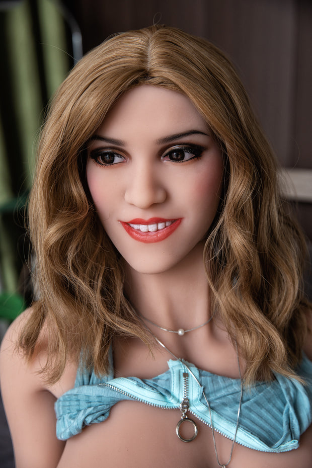 "HRDOLL Brand 5ft3"" Premium TPE Realistic M-cup Big Breast Lifelike Sex Love Doll ID:158-40"