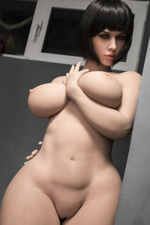 "ID:S02 5ft5"" Premium TPE Realistic H-cup Breast Men Sex Love Doll"