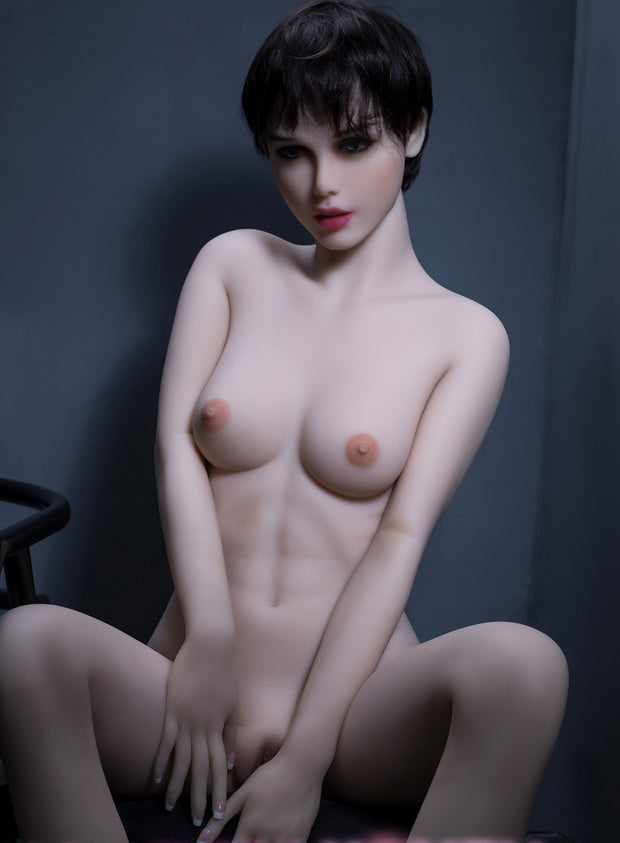 "5ft7"" Premium TPE Realistic A-cup Breast Men Sex Love Doll ID:168-03"