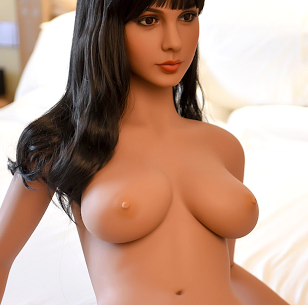 "5ft3"" Premium TPE Realistic C-cup Breast Lifelike Sex Love Doll ID:158-20"