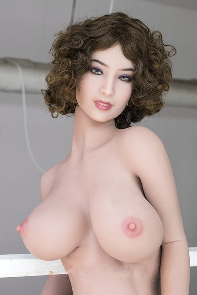 "5ft3"" Premium TPE Realistic D-cup Breast Lifelike Sex Love Doll ID:160-06"