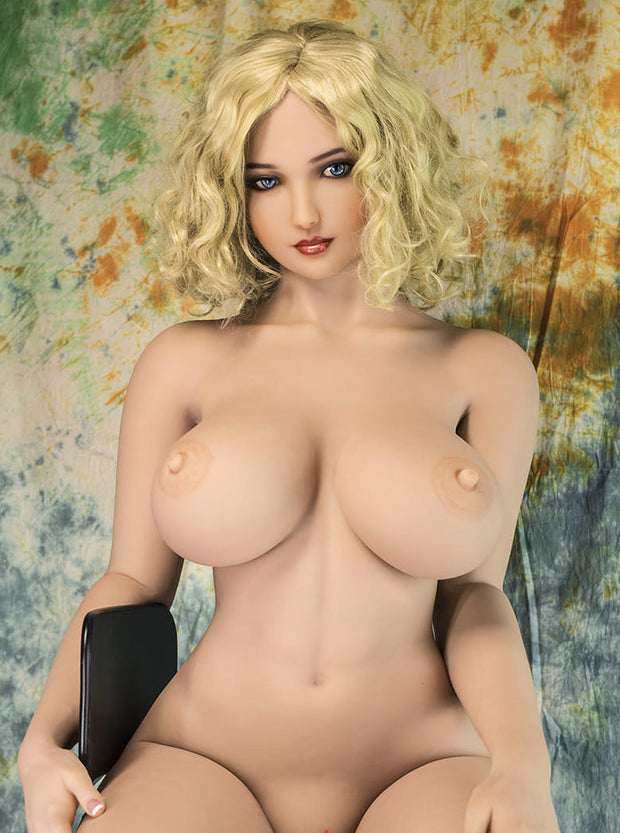 "5ft7"" Premium TPE Realistic H-cup Breast Men Sex Love Doll ID:170-03"