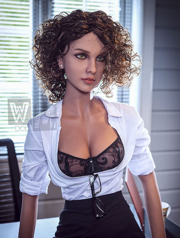 "5ft6"" Premium TPE Realistic C-cup Breast Men Sex Love Doll ID:166-04"