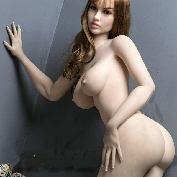 "5ft5"" Premium TPE Realistic E-cup Breast Lifelike Sex Love Doll ID:165-23"