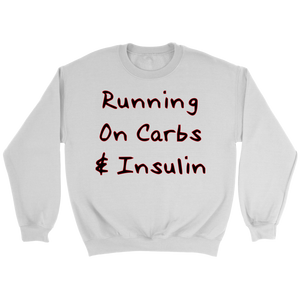 Running on Carbs & Insulin - Men's Sweatshirt