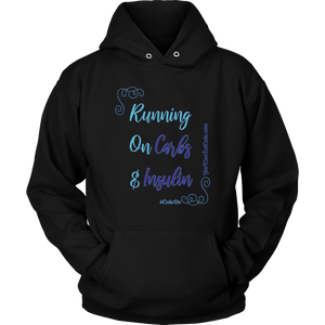 Running on Carbs & Insulin Hoodie