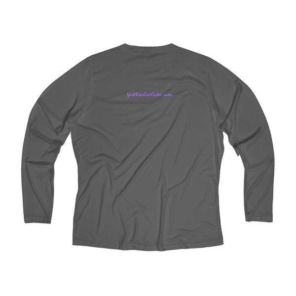 Type 1 Personality - Women's Long Sleeve Performance V-neck Tee - PY