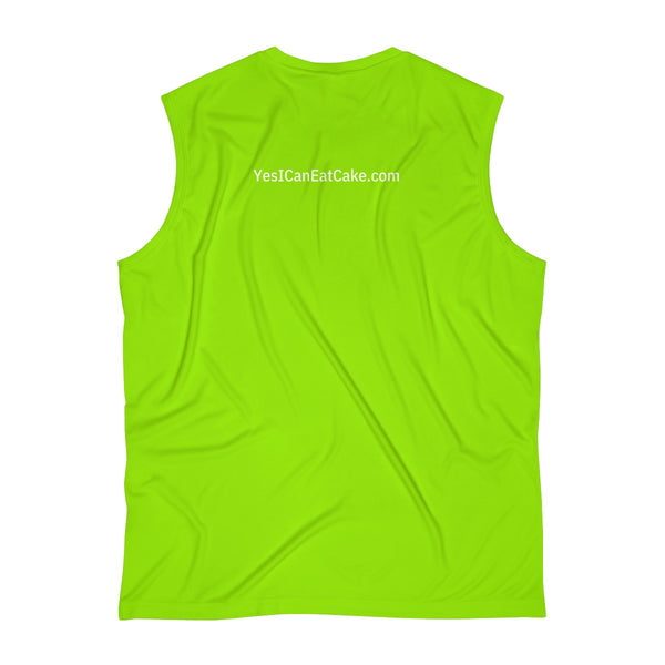 I Know My A1C's - Men's Sleeveless Performance Tee - PY