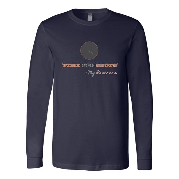 Time For Shots - Long Sleeve Shirt
