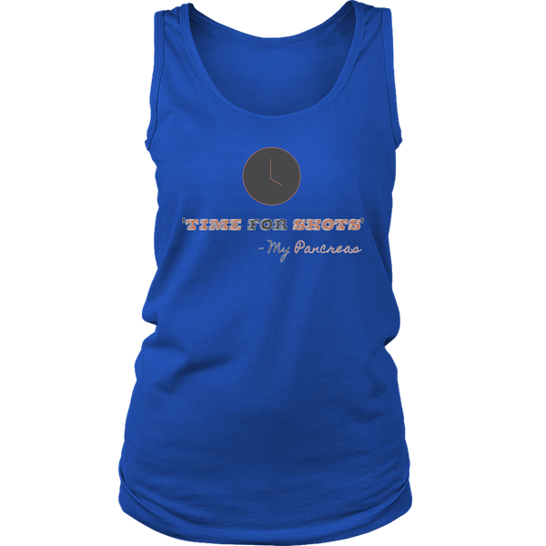 Time For Shots Tank Top - TL