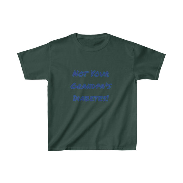 Not Your Grandpa's Diabetes - Kids Heavy Cotton™ Tee - PY
