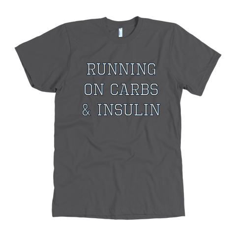Running on Carbs & Insulin - Tee Shirt