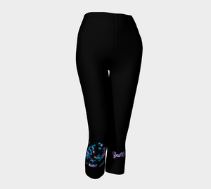 Stars Capri Leggings
