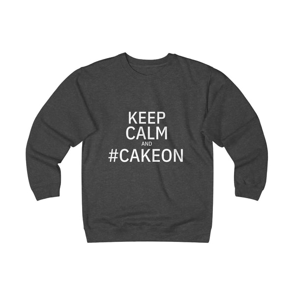 Keep Calm & #CakeOn - Unisex Heavyweight Fleece Crew - PY