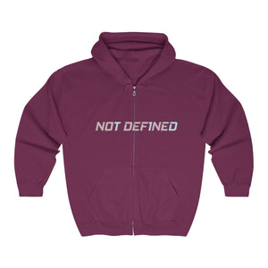 Not Def1ned - Unisex Heavy Blend™ Full Zip Hooded Sweatshirt - PY