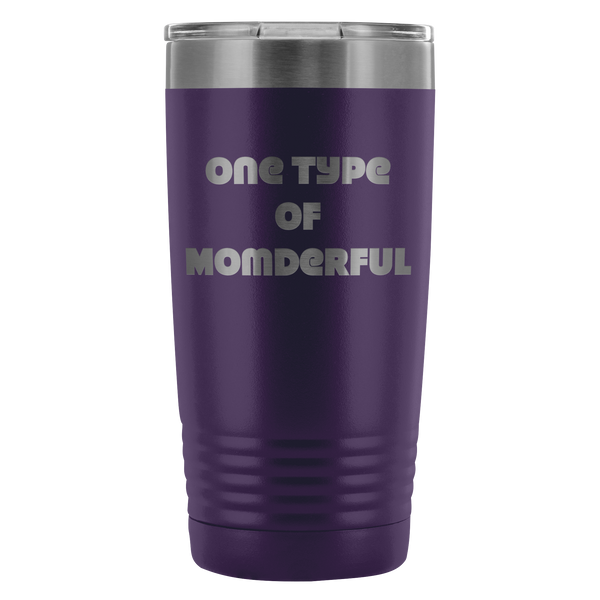 One Type of Momderful - 20 oz Tumbler - TL
