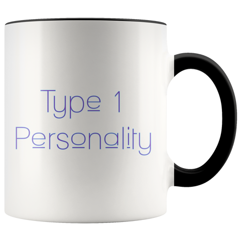 Type 1 Personality Purple/Blue - Mug 11Oz
