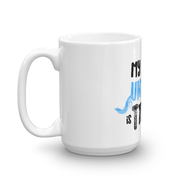 My Uncorn is Type 1 - Mug Blue