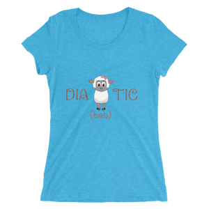 Diabehtic - Ladies' short sleeve t-shirt