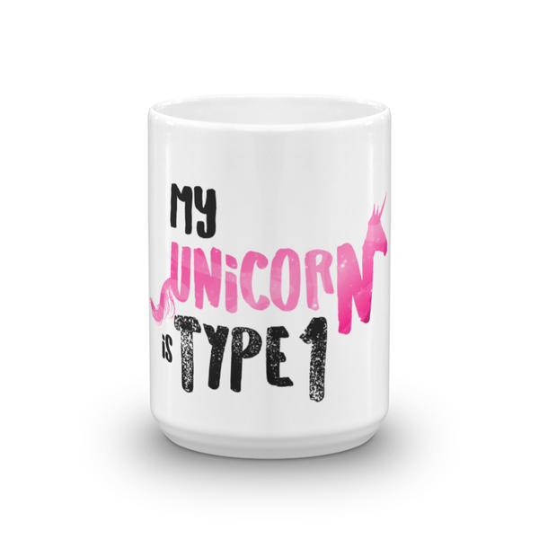 My Unicorn is Type 1 - Mug Pink