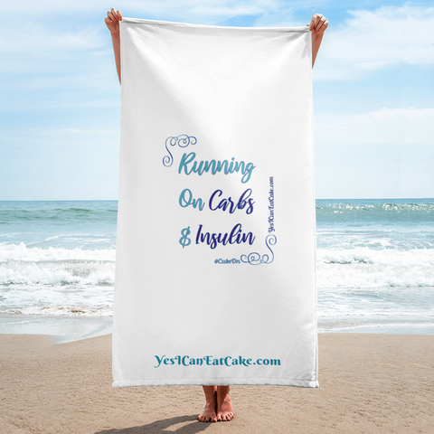 Running on Carbs & Insulin - Towel