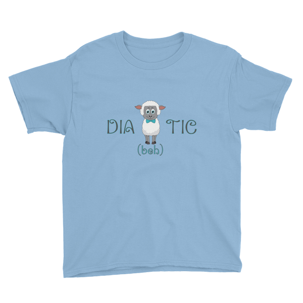 Diabehtic - Youth Short Sleeve T-Shirt