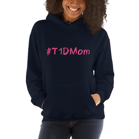 #T1DMom - Hooded Sweatshirt