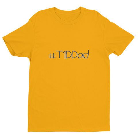 #T1DDad - Short Sleeve T-shirt