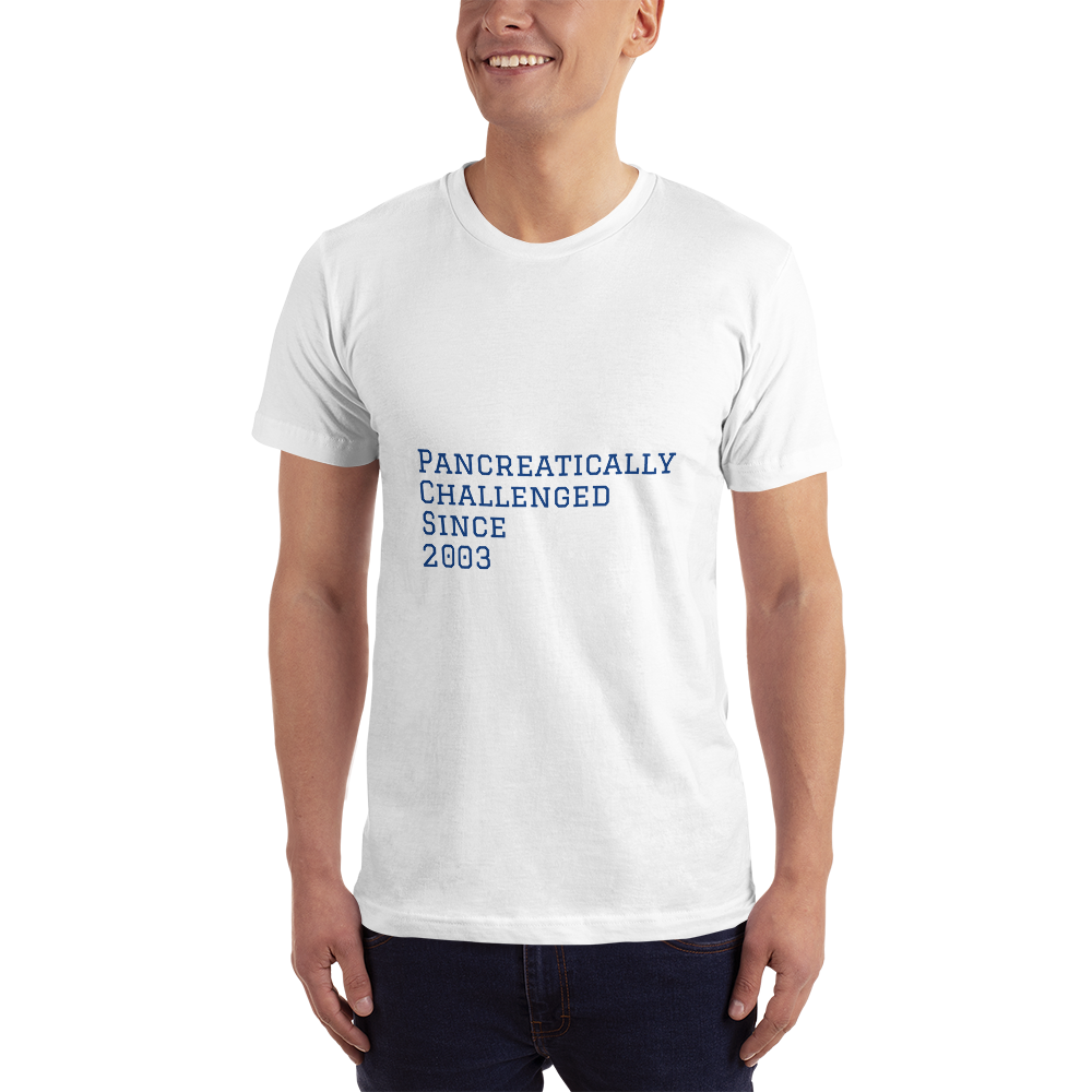 Personalized Pancreatically Challenged - Short-Sleeve T-Shirt