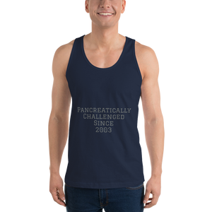 Personalized Pancreatically Challenged - Classic tank top (unisex) - PF