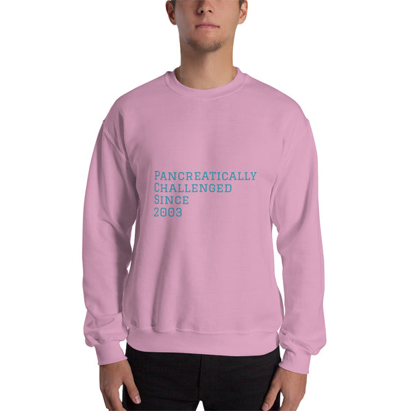 Personalized Pancreatically Challenged - Sweatshirt