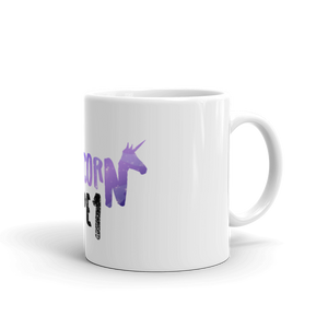 My Unicorn is Type 1  purple  - Mug