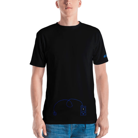 Rock The Pump - Men's T-shirt BL - PF