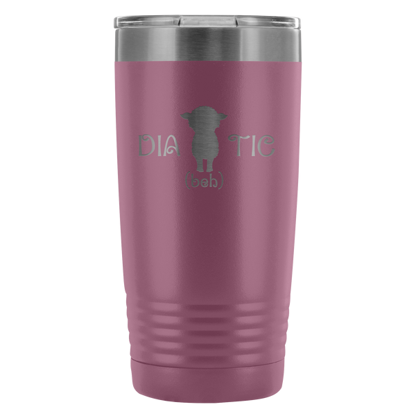 Diabehtic - Vacuum Tumbler 20 Oz, Water Bottle - TL